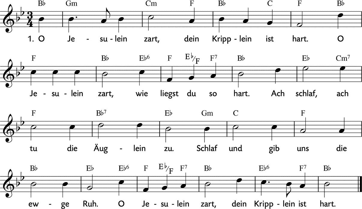 O Jesulein Zart
