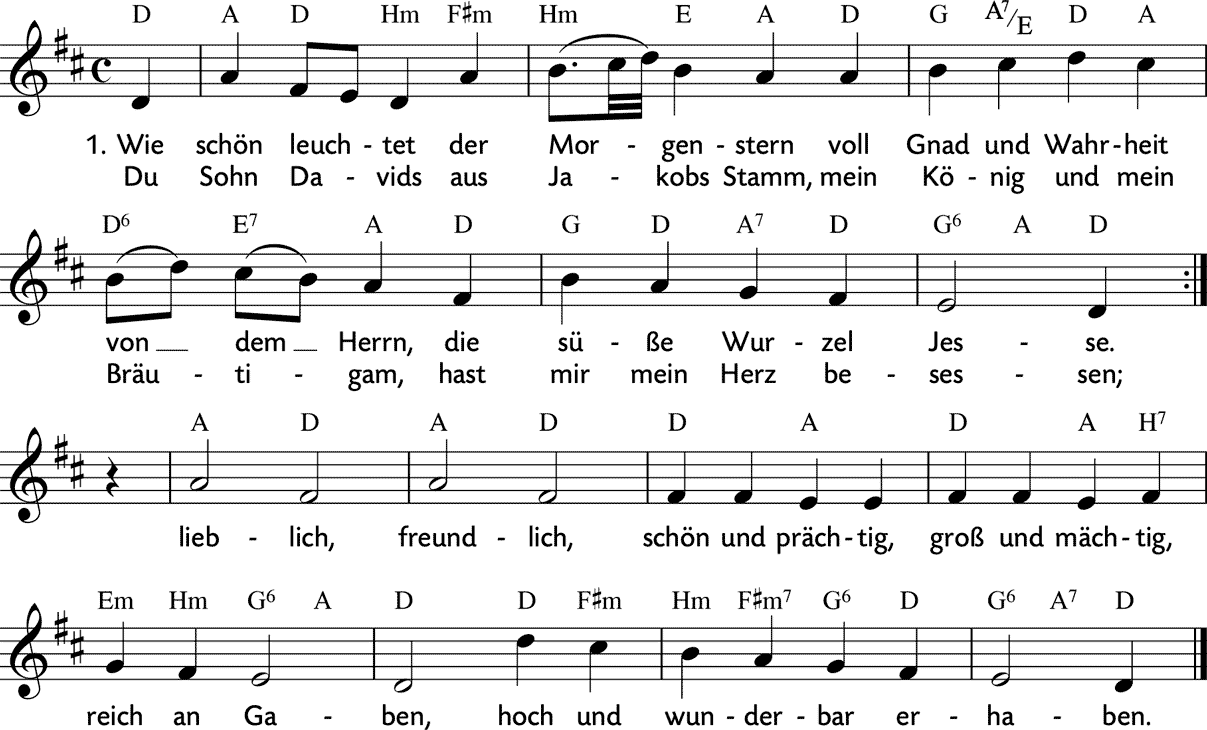 Ist text lied gottes und noten wunderbar liebe so Gottes Liebe